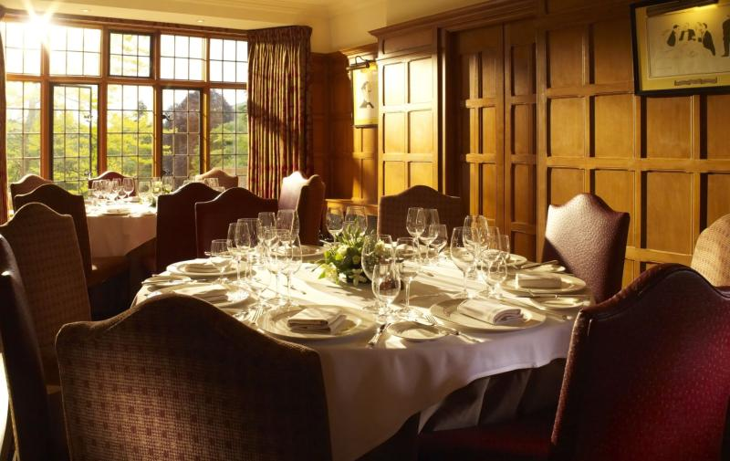 The Restaurant - Gidleigh Park