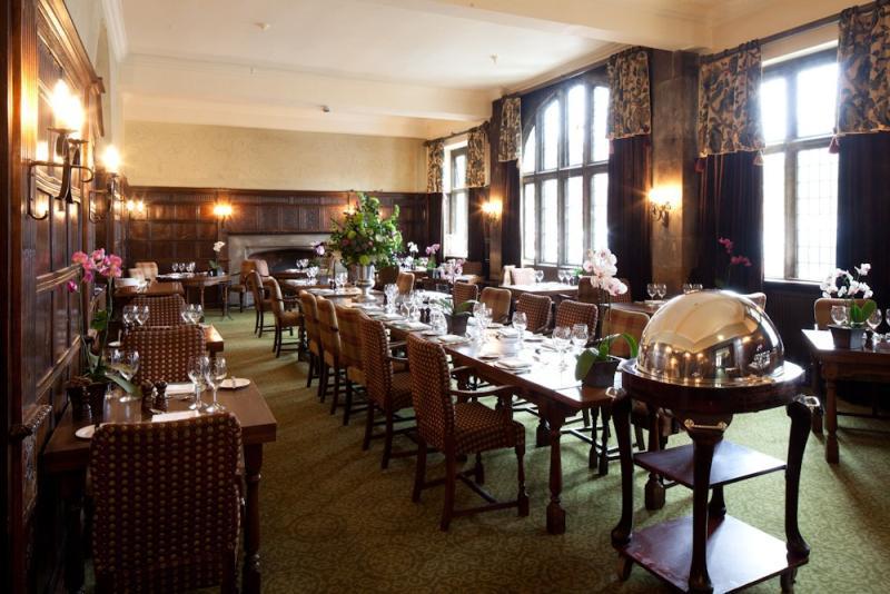 The George Of Stamford Oak Panelled British Restaurant