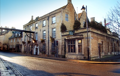The George of Stamford, Oak Panelled Restaurant