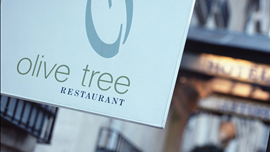 Queensberry Hotel, Olive Tree Restaurant
