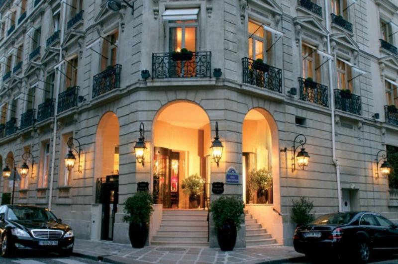 Pierre Gagnaire at the Hotel Balzac
