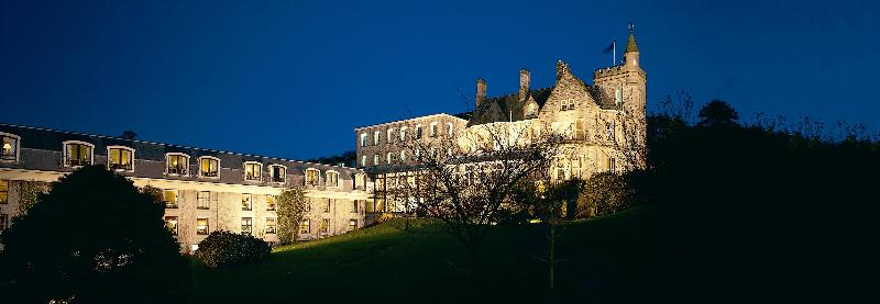 The Culloden Hotel at Night