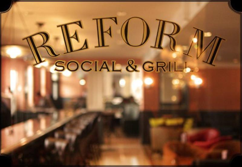 Reform Social & Grill, The Mandeville Hotel