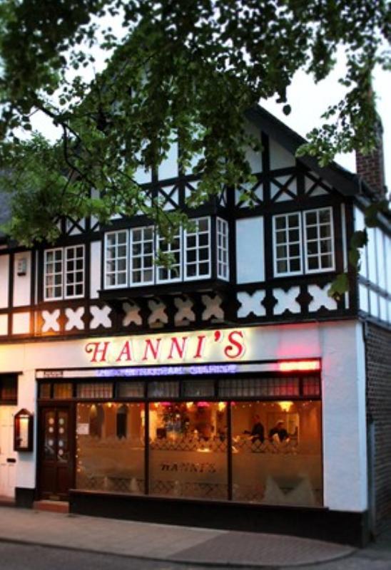 Hanni's Restaurant Sale