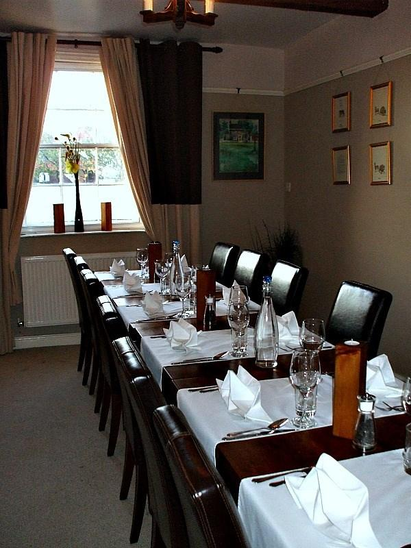 The Cottage Restaurant at Ternhill Farm House