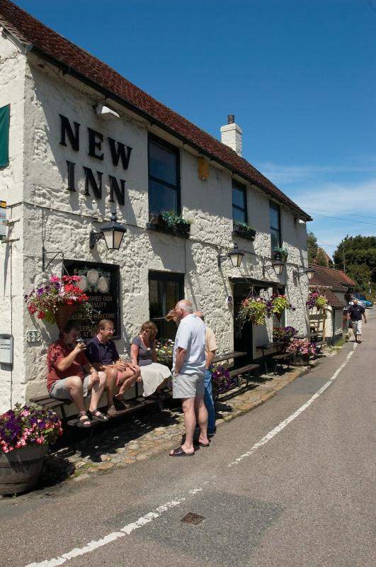 The New Inn, Gastro pub restaurant, Shalfleet, Newport, Isle of Wight, Hampshire