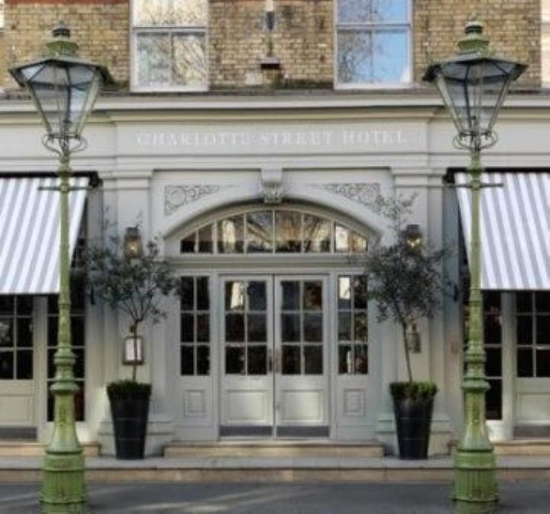 Oscar Bar & Restaurant, Charlotte Street Hotel