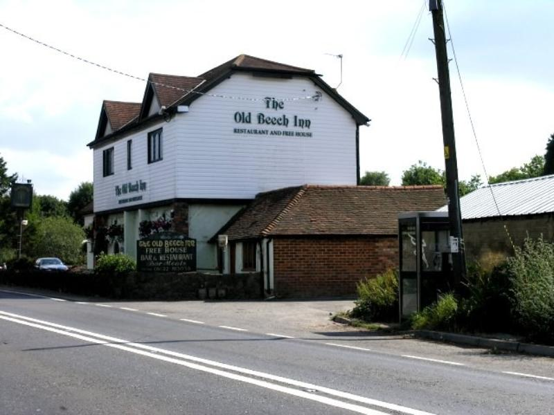 Beeches Restaurant Mereworth ............. -- ............. Image Copyright Hywel Williams. This work is licensed under the Creative Commons Attribution-Share Alike 2.0 Generic License. To view a copy of this license, visit http://creativecommons.org/lice