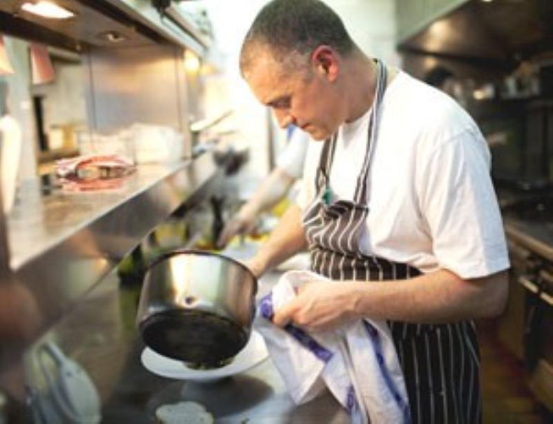 Paul Merrett Chef Director of The Victoria East Sheen