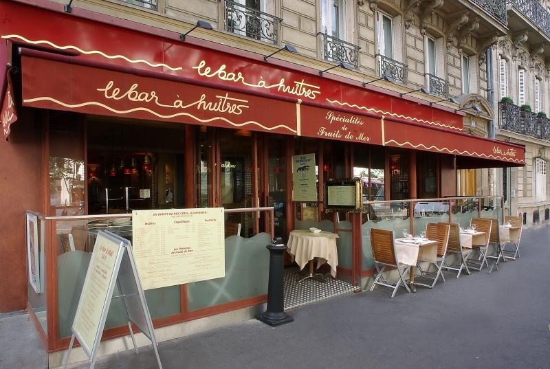 Le Bar a Huitres Ternes, Paris, Exterior