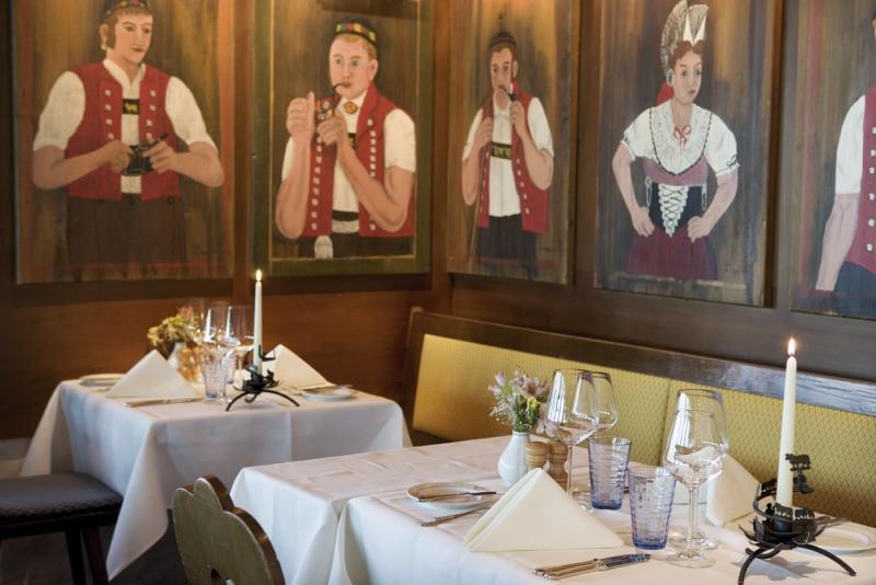 Inside view, Appenzeller Stuben, Zurich