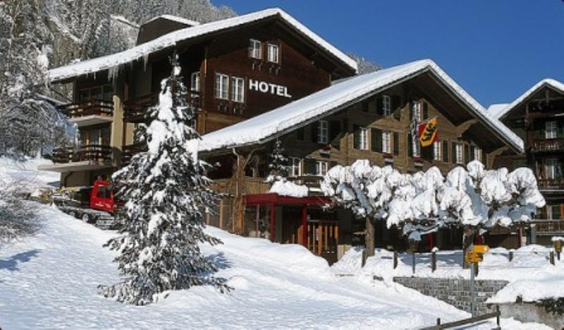 Restaurant Stübli, Lauterbrunnen, Kanton Bern, Fuhren