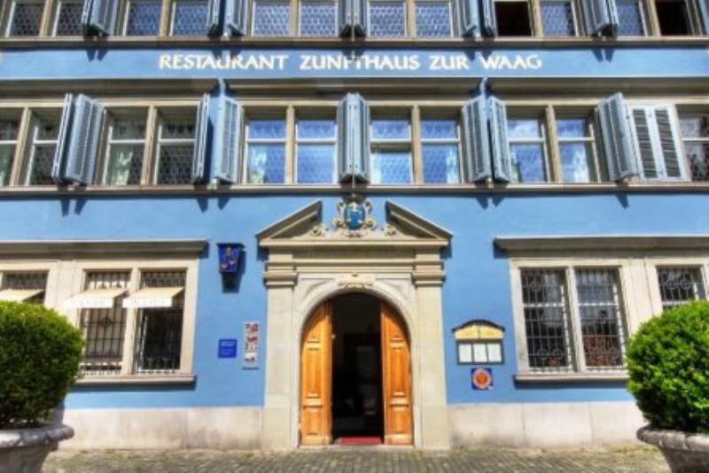 Zunfthaus zur Waag, Zürich, Münsterhof