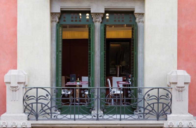 Exterior, Brasserie du Gothique, Barcelona, Spain