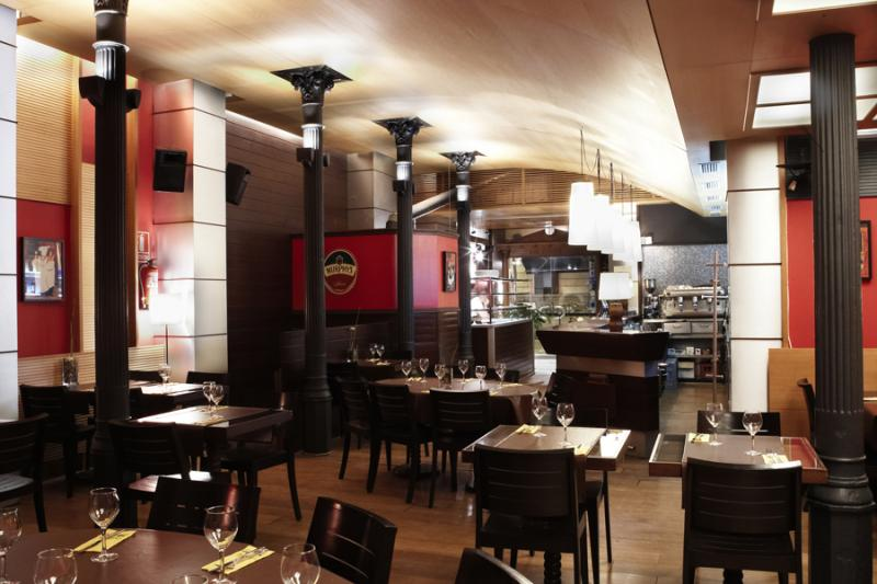Interior, Buon Appetito, Barcelona, España