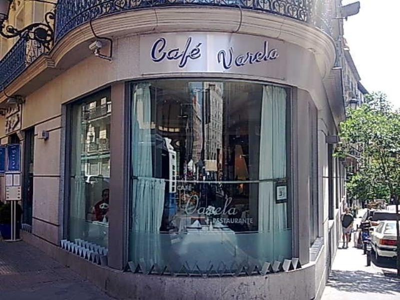 Exterior, Café Varela, Madrid, Spain