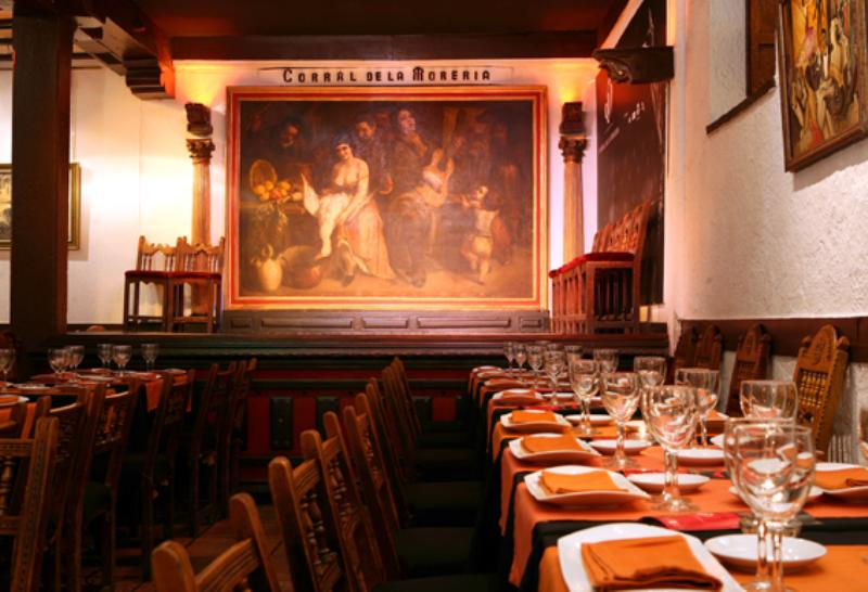 Interior, Corral de la Morería, Madrid, Spain