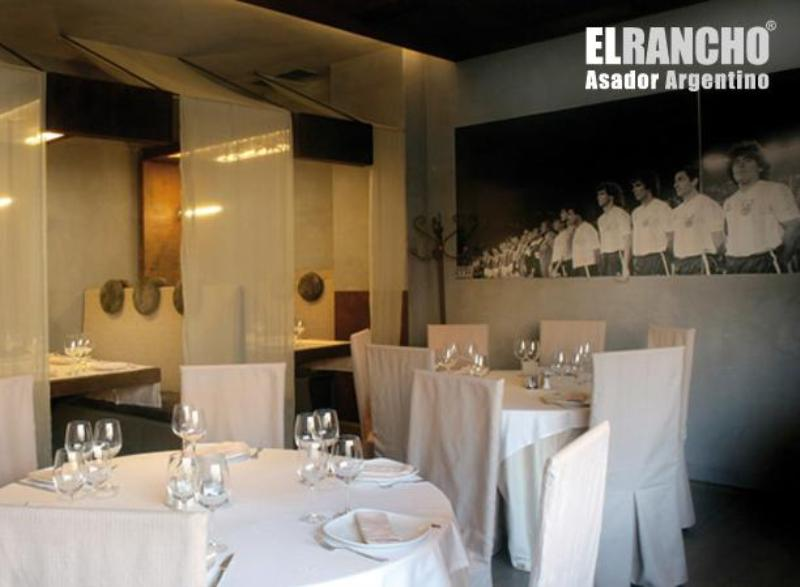 Interior, El Rancho Asador Argentino, Madrid, Spain