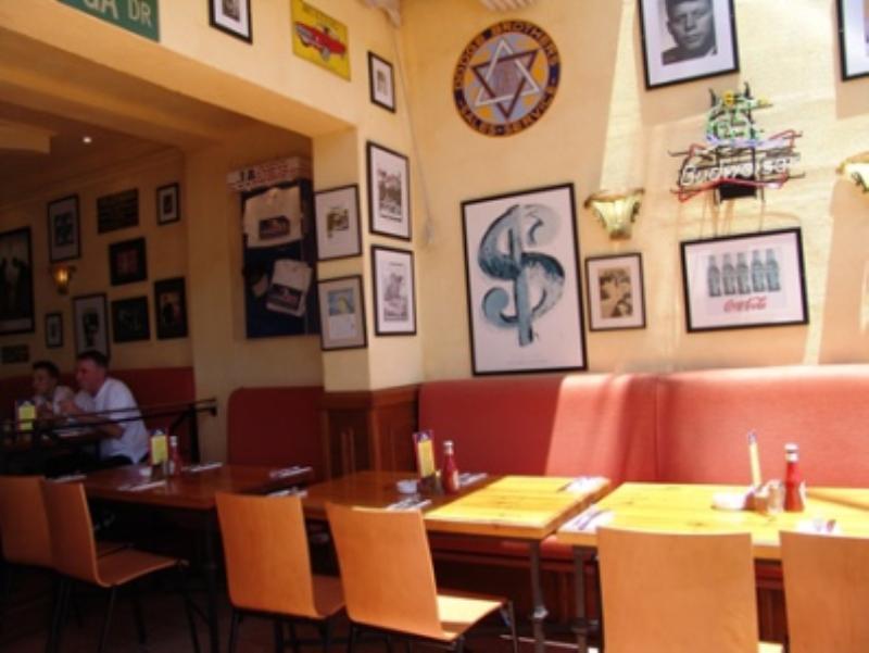 Interior, Jacks American Restaurant, Marbella, Malaga