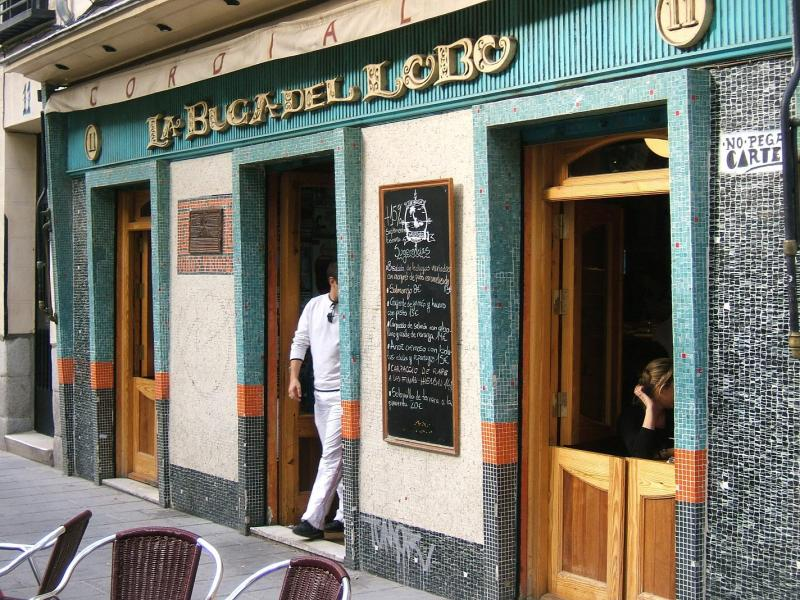 Exterior, La Buga del Lobo, Madrid, España