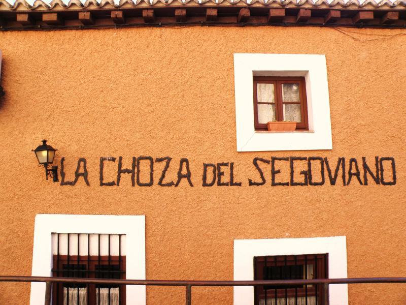 Fachada, La Choza del Segoviano, Madrid, España