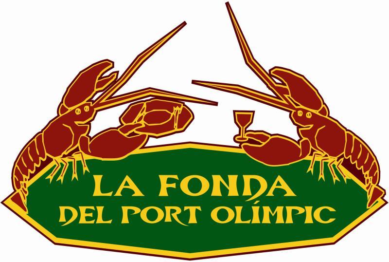 Logo, La Fonda del Port Olimpic, Barcelona, España