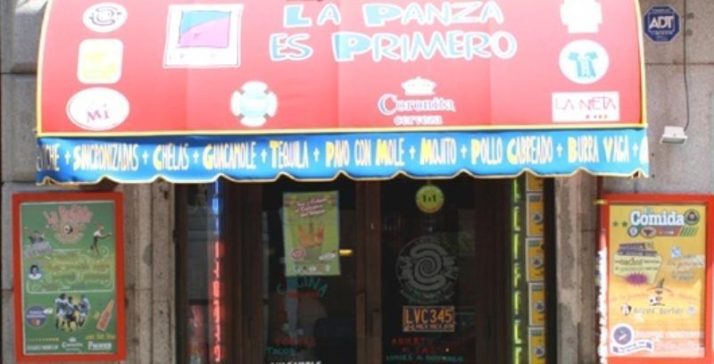 Exterior, La Panza es Primero Campoamor, Madrid, Spain