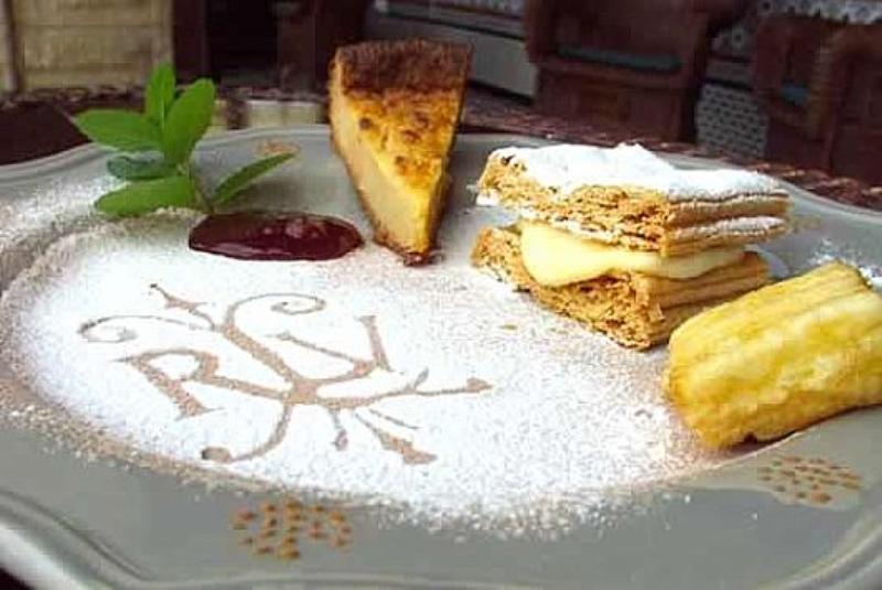 Dessert, Lino�s de la Real Labranza, Cantabria, Spain