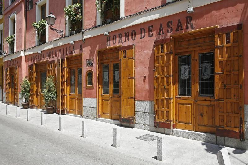 Exterior, Posada de la Villa, Madrid, España