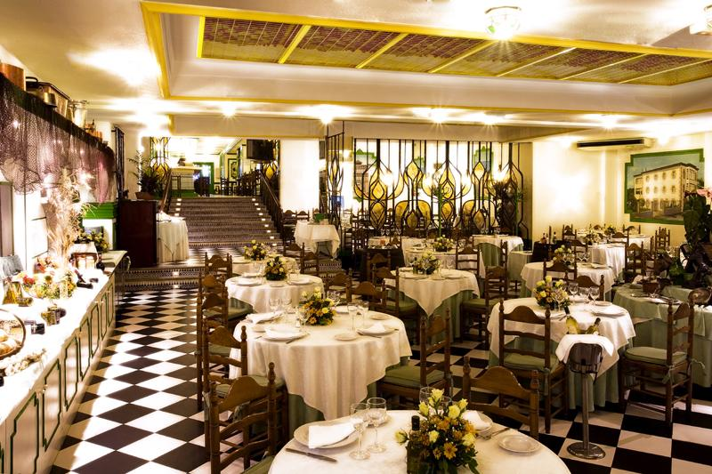 Interior, Restaurante El Rocio, Madrid, Spain