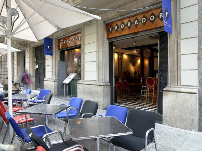Exterior, Trobador Rosell�, Barcelona, Spain
