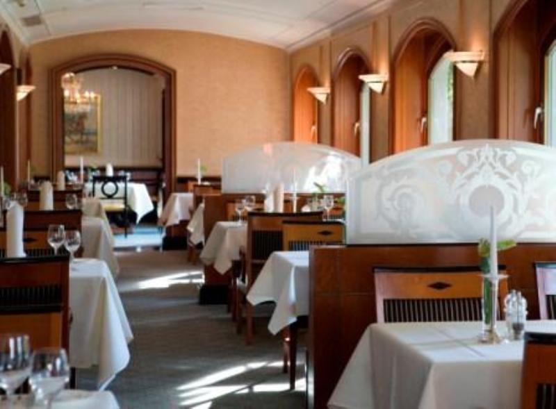 Innenansicht, Restaurant im Hotel Atlantic, Hamburg
