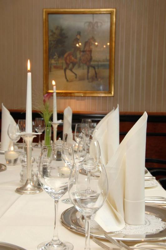 Innenansicht, Restaurant im Hotel Atlantic