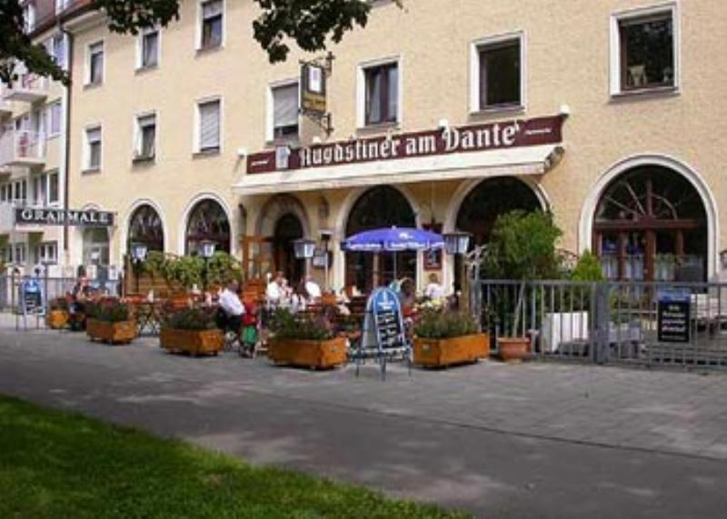 Restaurant Augustiner am Dante, terrace