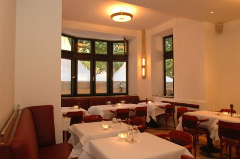 Eines der Speisebereiche des Restaurants. One of the dining areas of the restaurant.