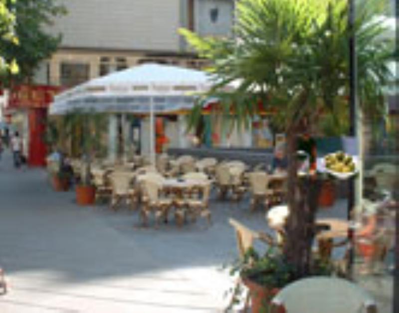 Outside, Restaurant Buena Vista, Frankfurt