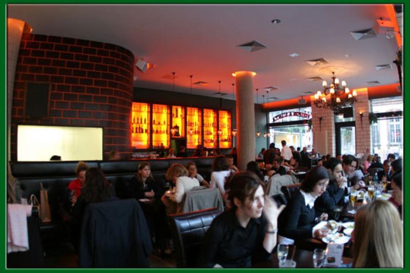 Dining area, Restaurant Buena Vista, Frankfurt