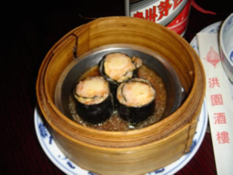 Dim sum, China Restaurant Rosengarten, Dusseldorf