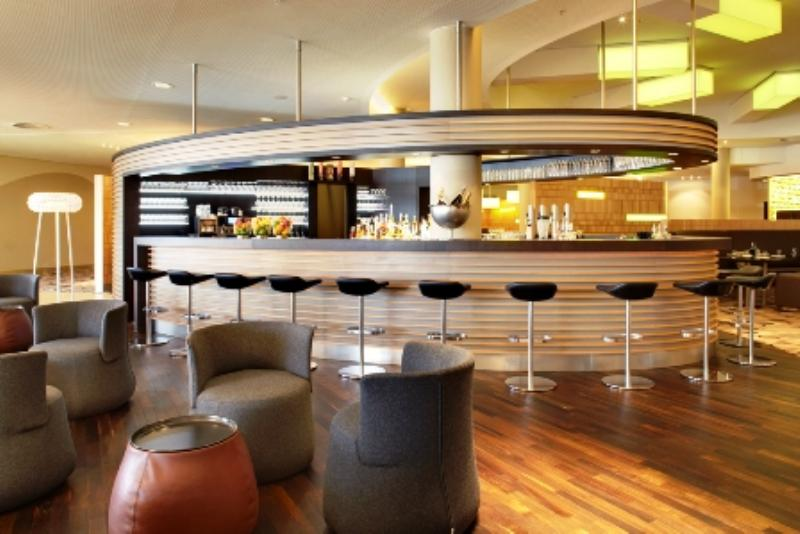 bar of Filini im Radisson Blu Hamburg Airport