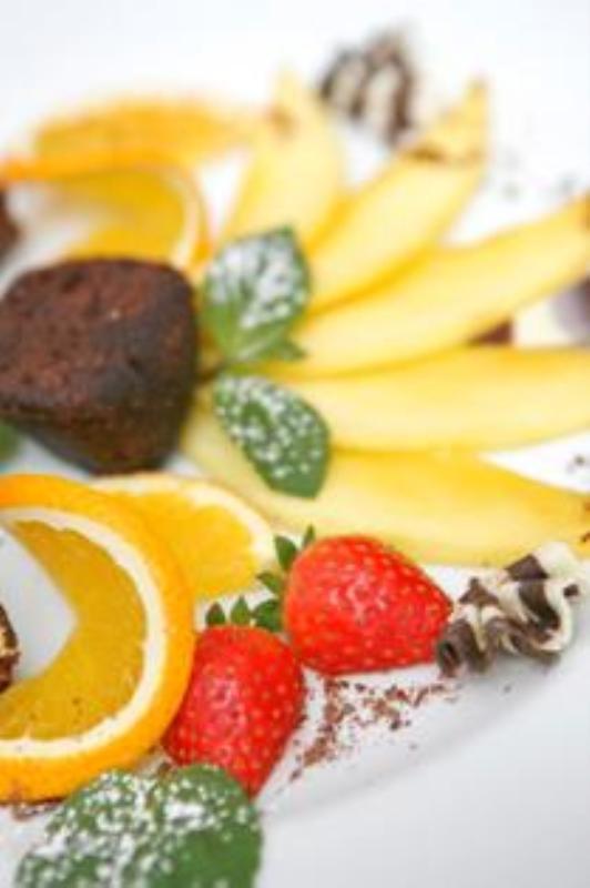 Dessert, Focus im Quality Hotel Ambassador, Hamburg