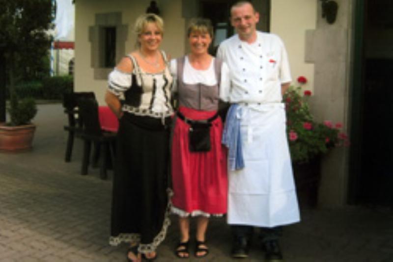 The team, Fränkisches Wirtshaus, Nürnberg