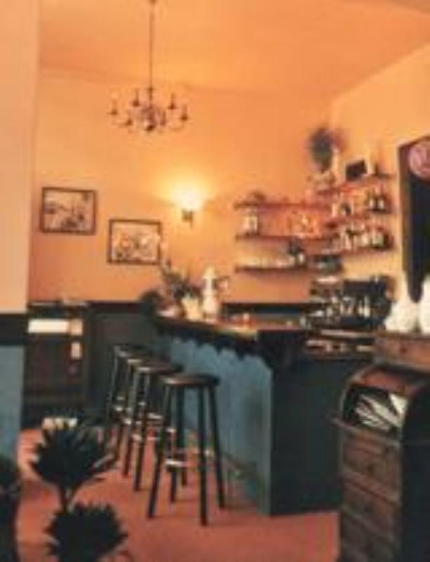 Bar, Restaurant Grünfisch, Berlin