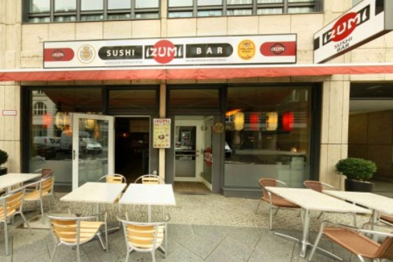 Izumi, Sushi-Bar, Berlin-Mitte, Kronenstraße