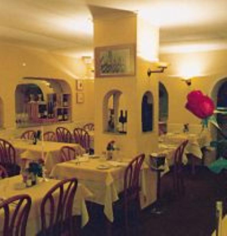 Dining area, La Lampada, Dusseldorf