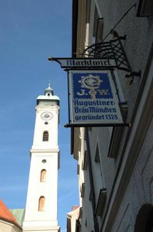 outside, Restaurant Marktwirt, München