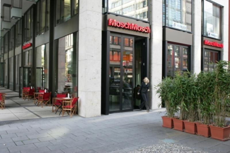 MoschMosch, Frankfurt am Main, Gutleutviertel, Wilhelm-Leuschner-Straße, Baseler Arkaden