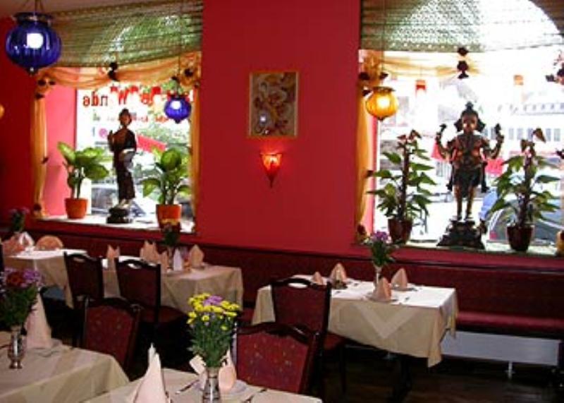 Dining area, Restaurant Palast der Winde, Munich