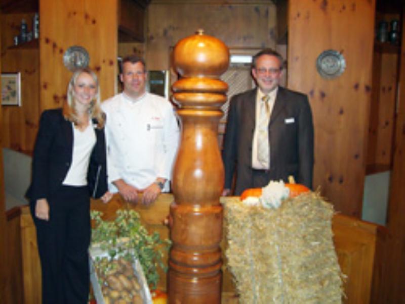 The team, Restaurant Pfefferm�hle, N�rnberg