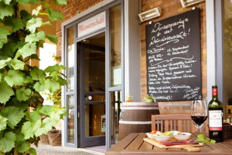 Weinwirtschaft im Steigenberger Hotel Sonne, Rostock