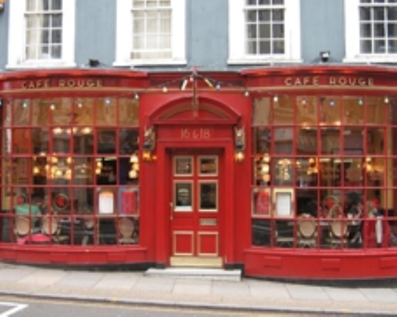 Cafe Rouge Restaurants In London